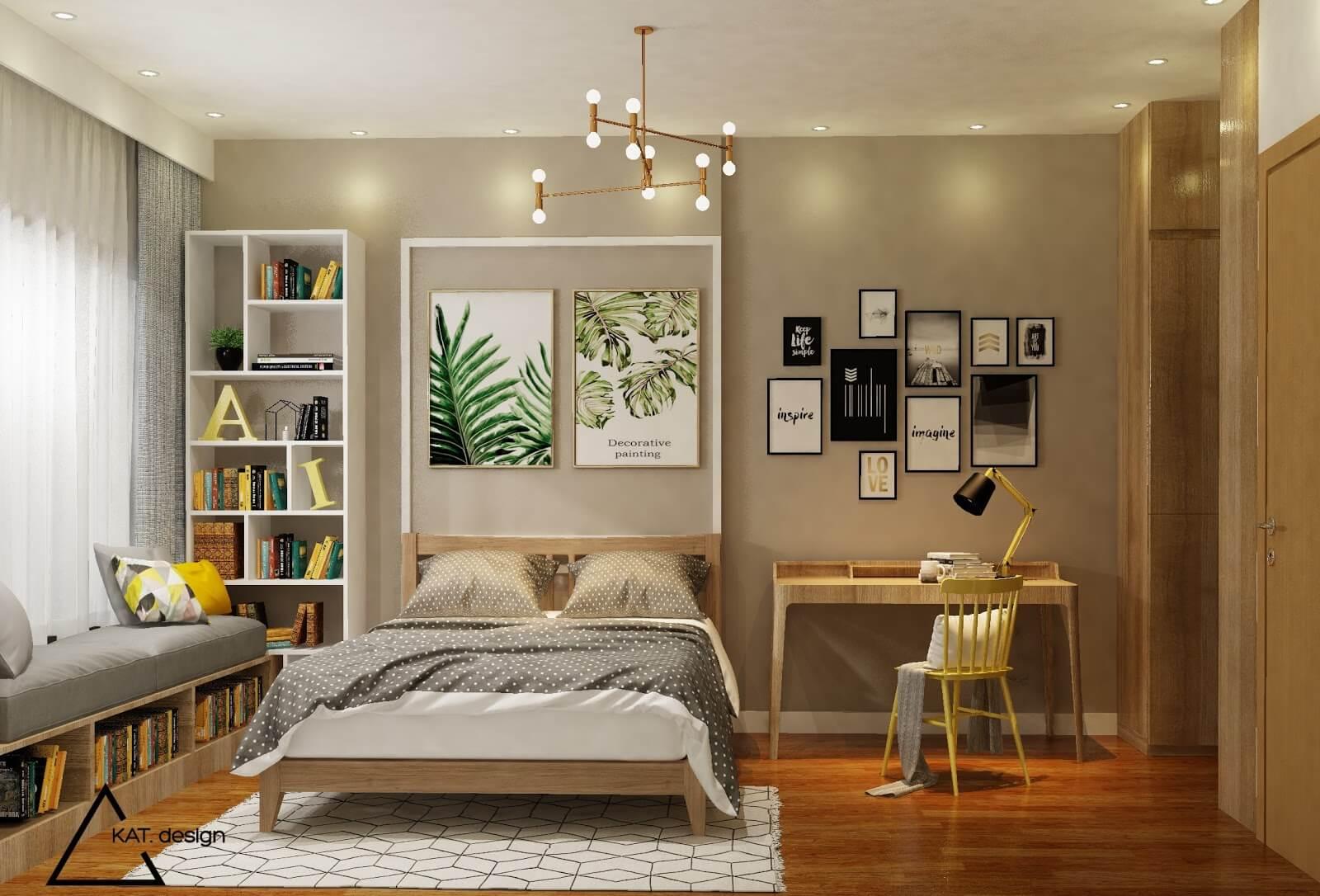mẫu phong cách tropical trong thiết kế nội thất