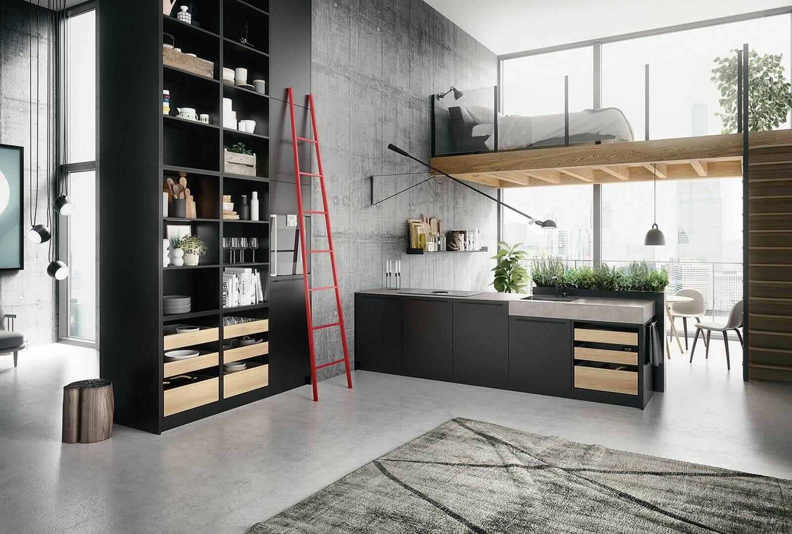 phong cách Urban trong thiết kế nội thất là gì