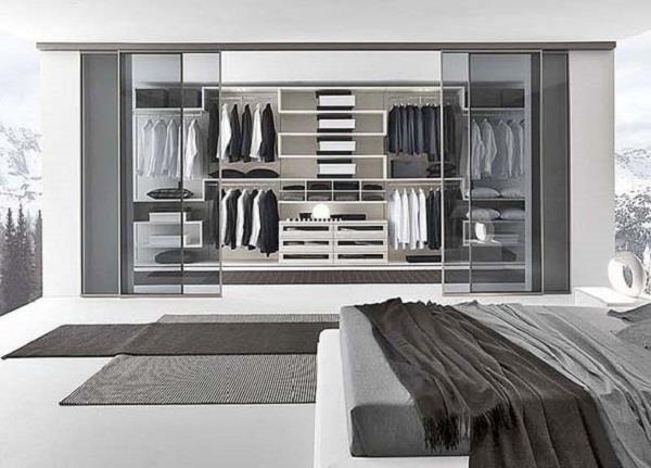 thiết kế phòng đựng quần áo