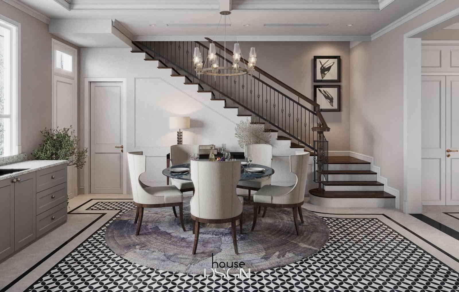 các mẫu thiết kế nội thất phong cách cổ điển