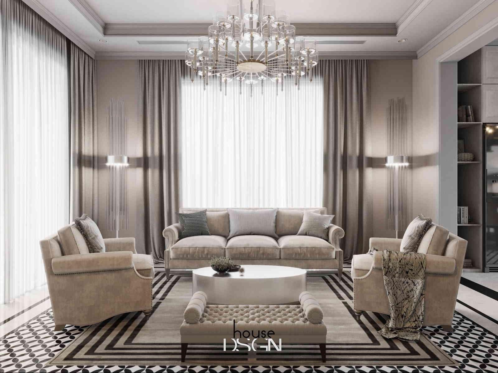 các phong cách thiết kế nội thất cổ điển