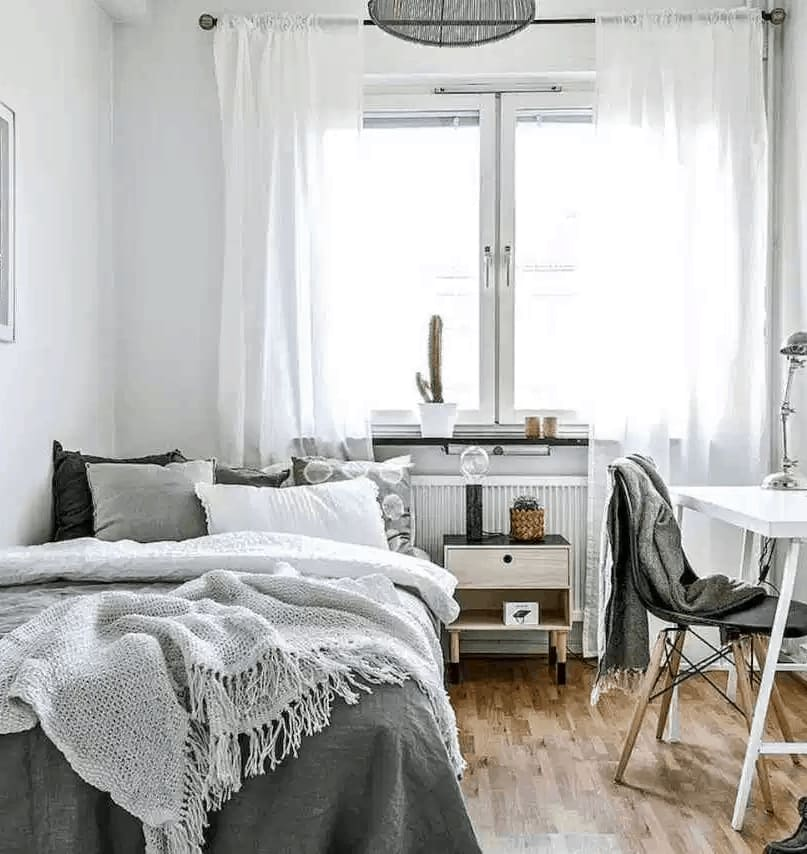 phòng ngủ ấn tượng phong cách Hàn Quốc