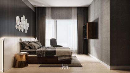 mẫu phòng ngủ phong cách scandinavian