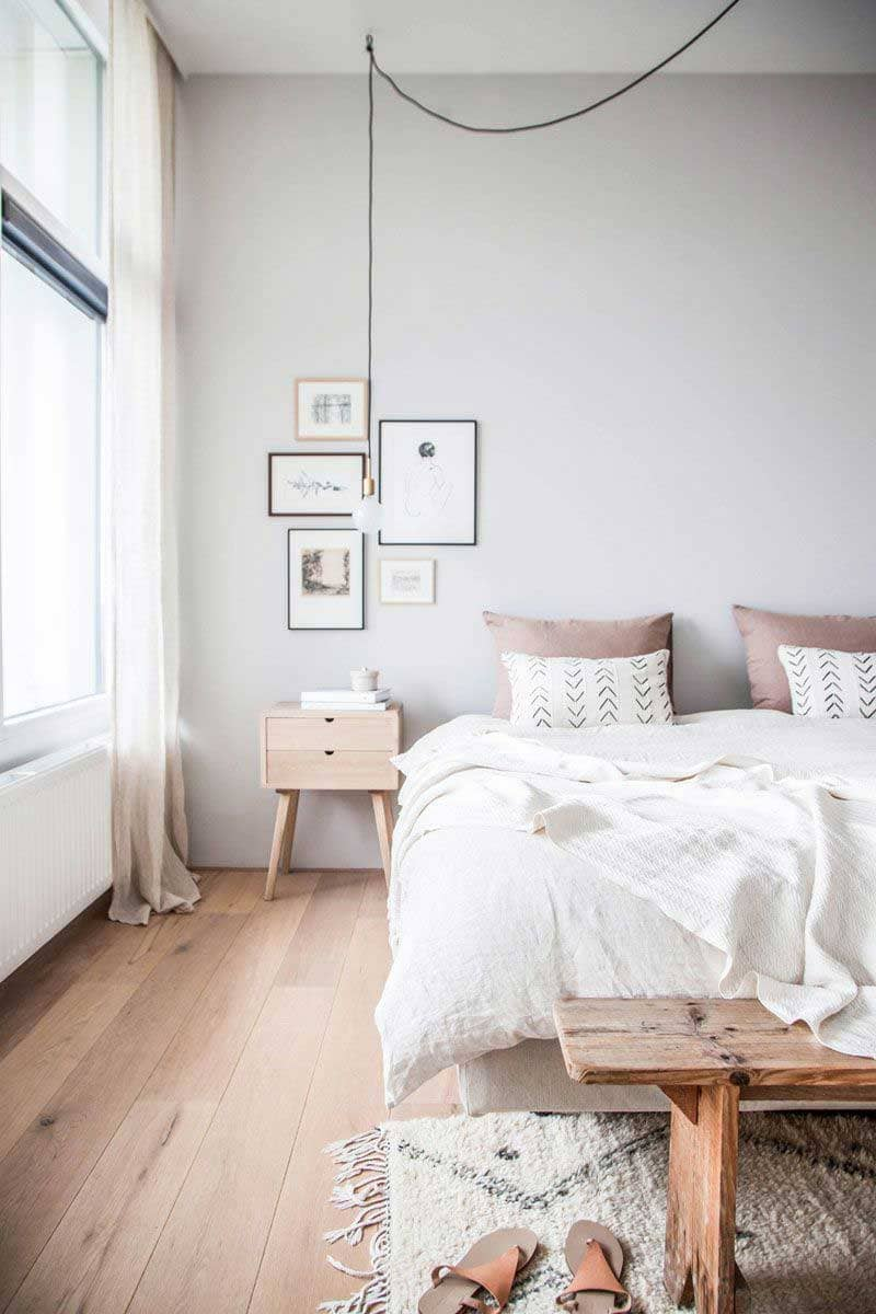 phòng ngủ scandinavian style - Housedesign
