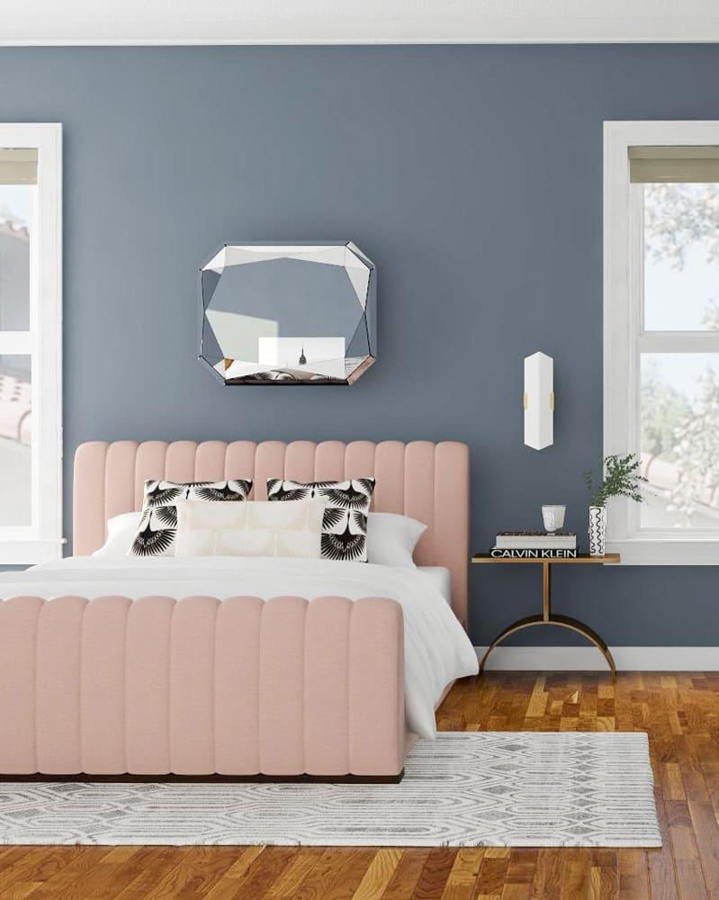 phòng ngủ xinh xắn theo phong cách art deco - Housedesign