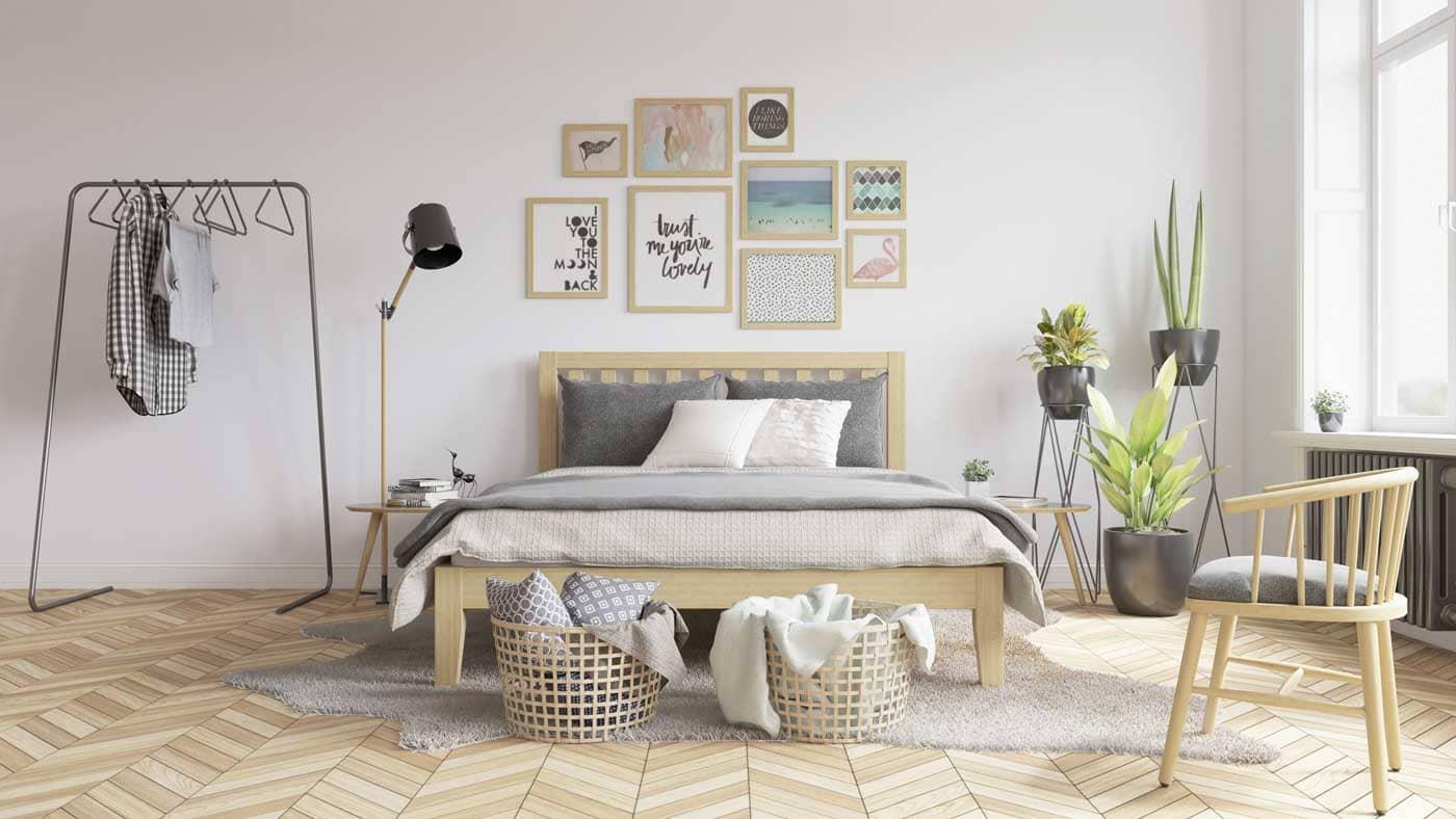 phòng theo phong cách scandinavian - Housedesign