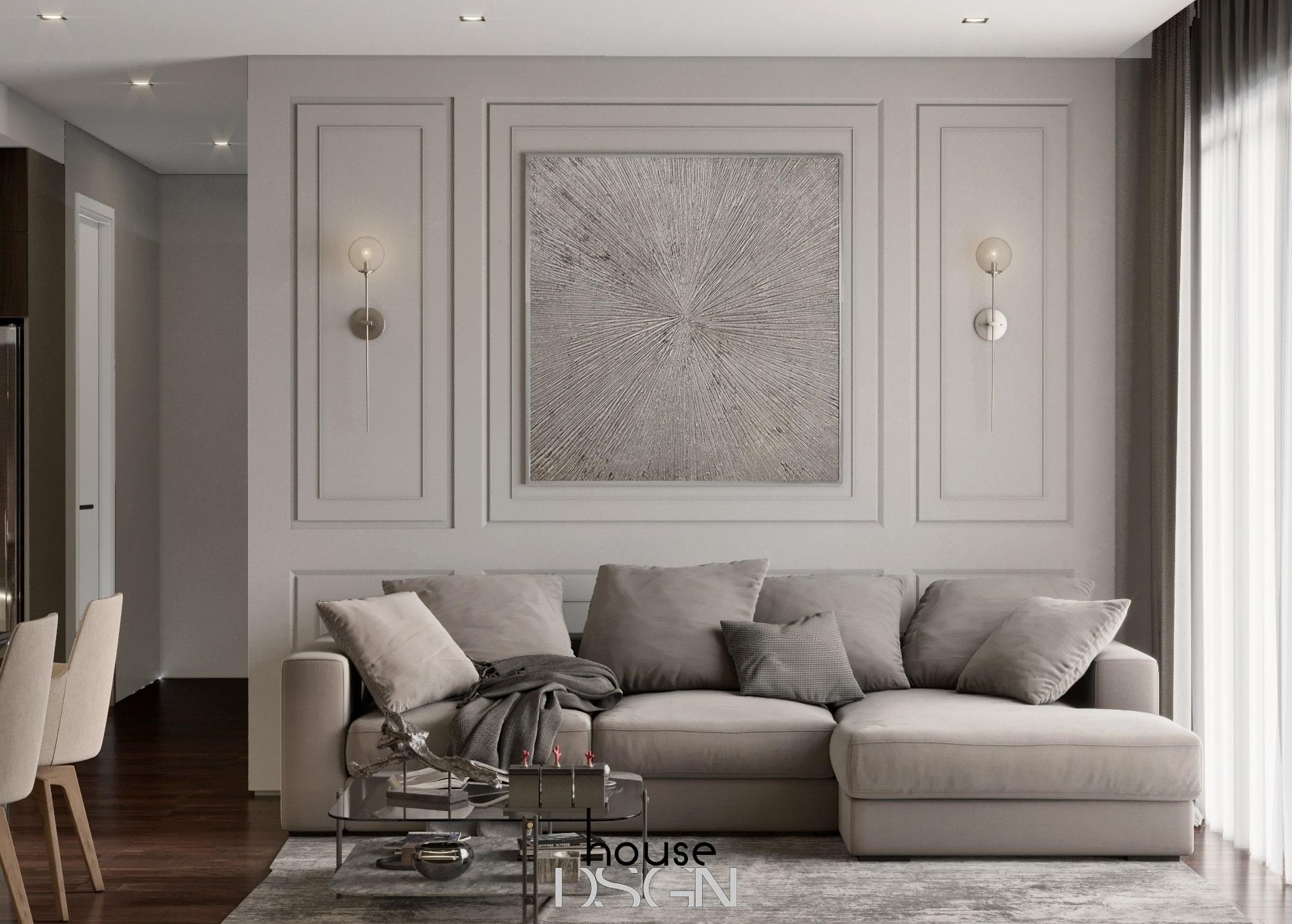 trang trí sofa nội thất biệt thự