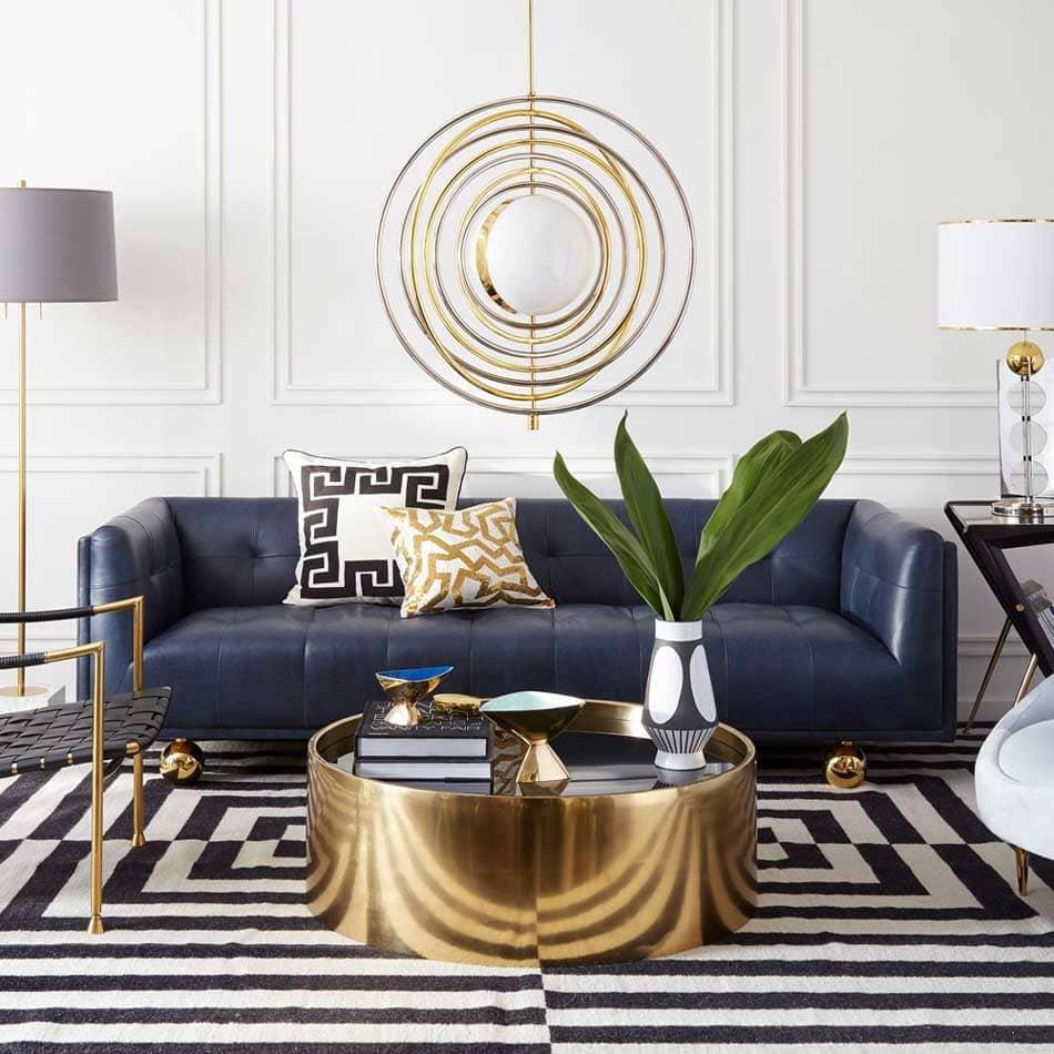 thiết kế tối giản của phong cách art deco - Housedesign