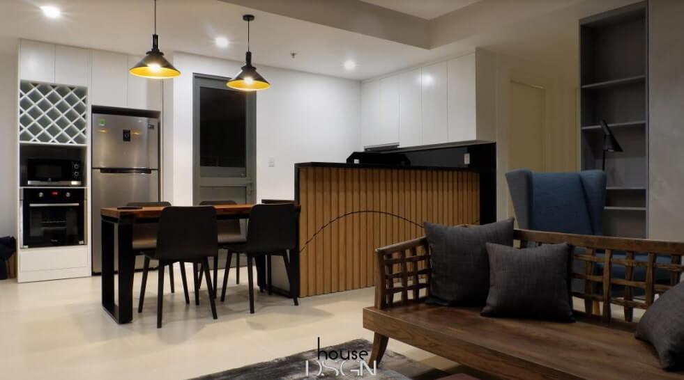 thiết kế căn hộ 64m2 chuyên nghiệp