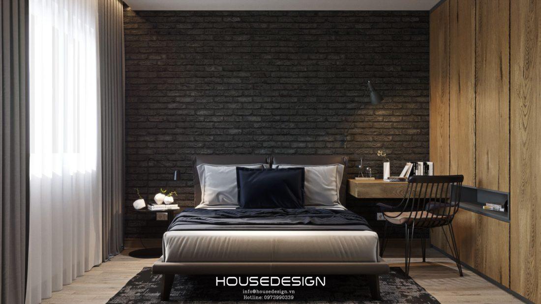 mẫu thiết kế căn hộ chung cư 60m2 đẹp