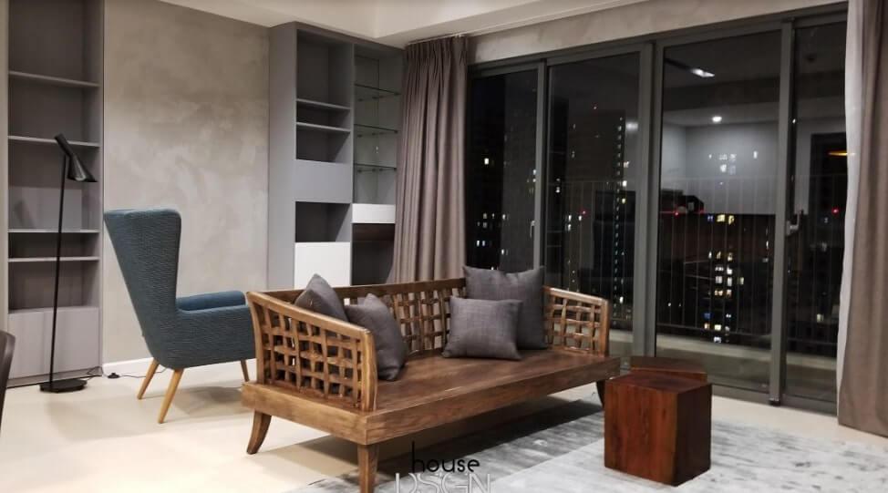 thiết kế căn hộ đẹp cho gia đình bốn người