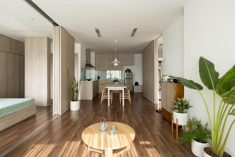 thiết kế nội thất căn hộ Feliz En Vista