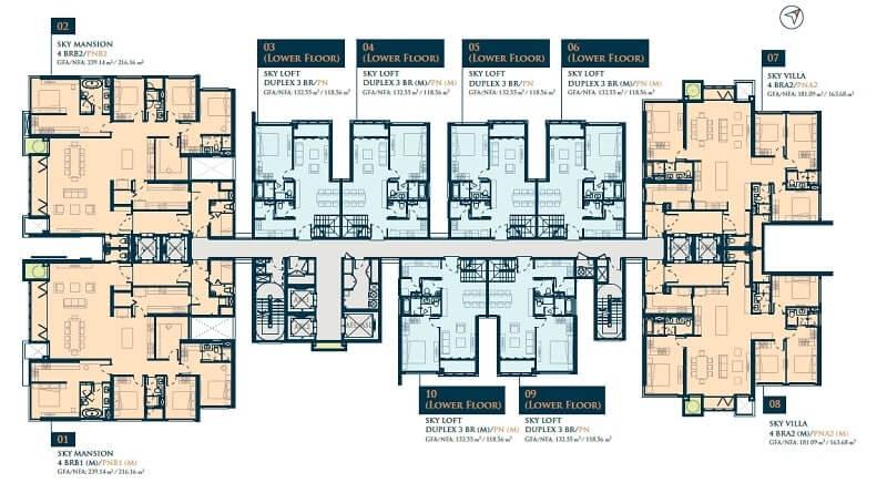 các mẫu thiết kế căn hộ feliz en vista sang trọng