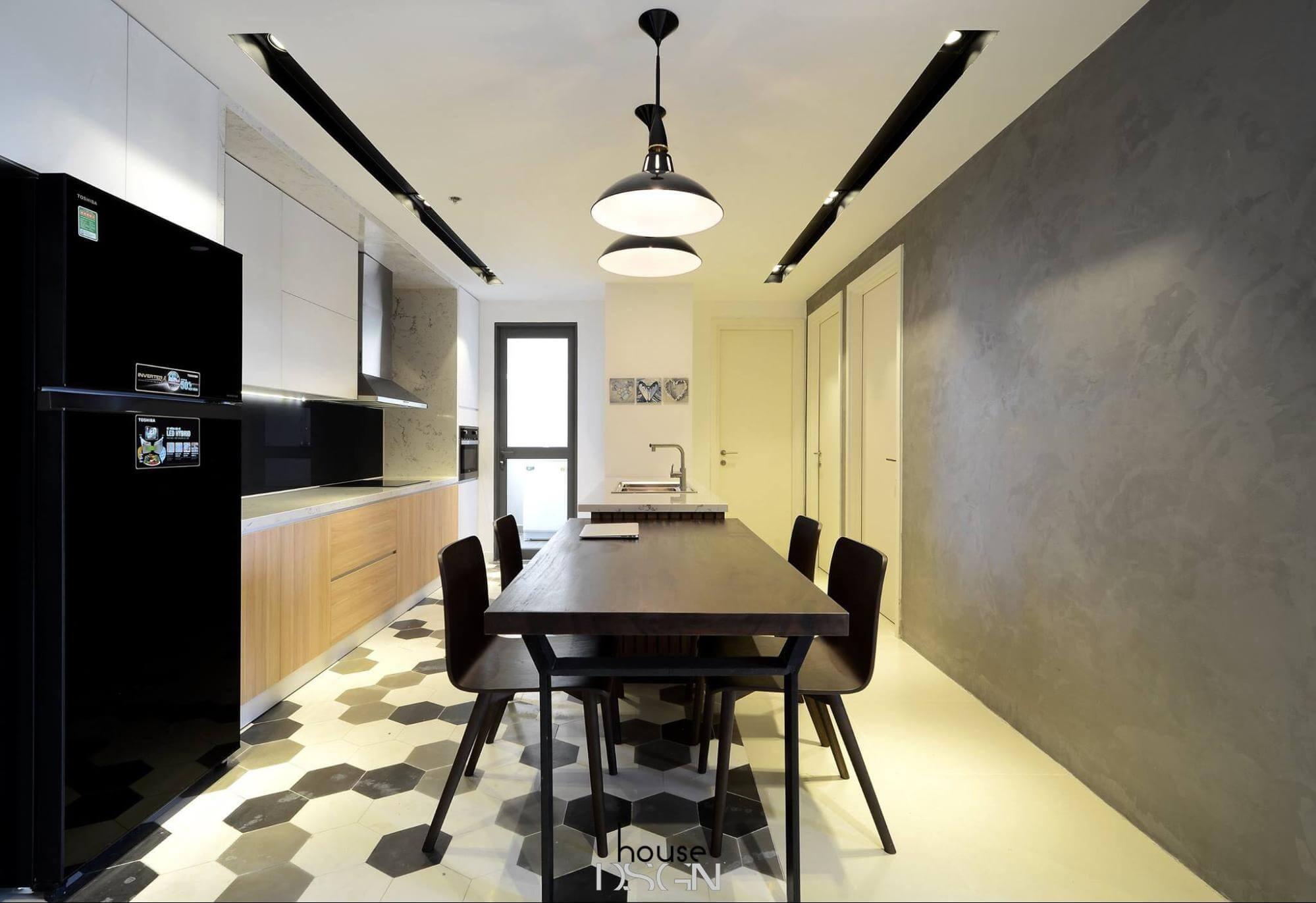 thiết kế nội thất căn hộ masteri An Phú 3 phòng ngủ tiện nghi và hiện đại