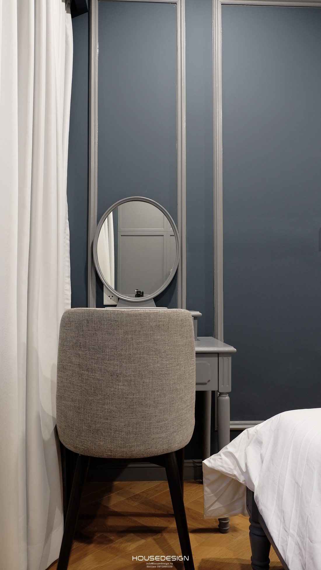 thiết kế căn hộ một phòng ngủ ấn tượng