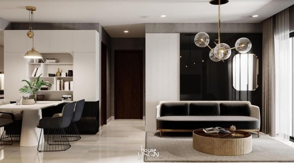 thiết kế căn hộ nhỏ đẹp và tiện nghi