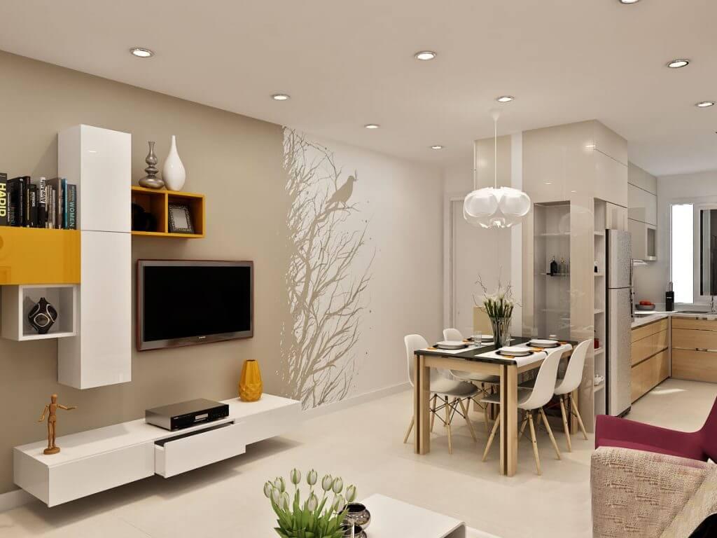 thi công và thiết kế căn hộ palm heights