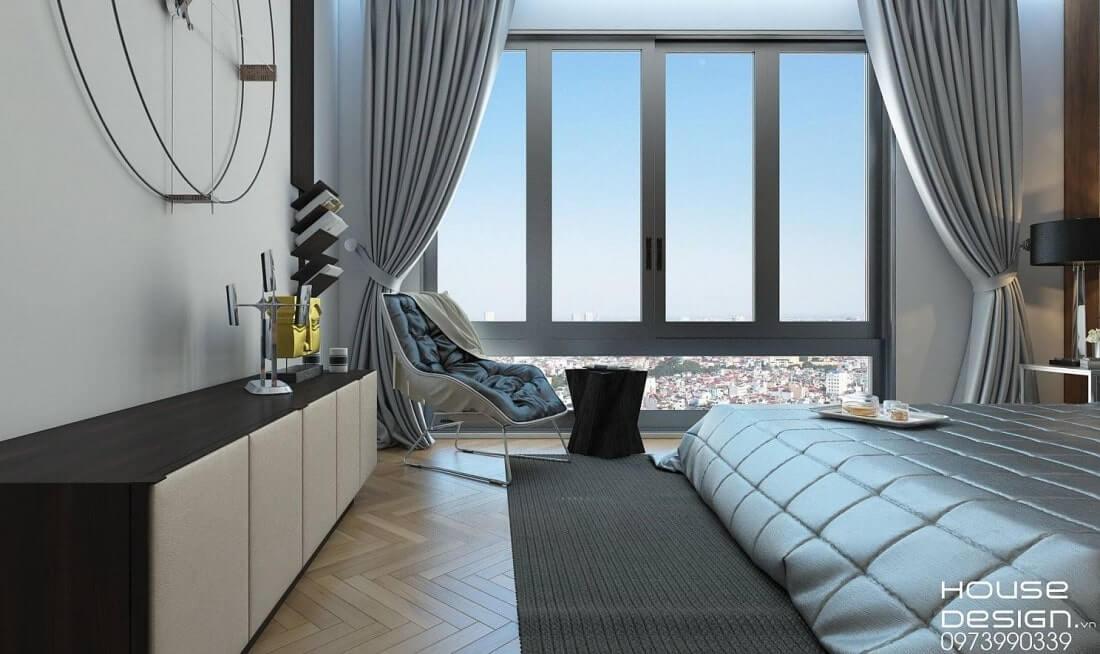 mẫu thiết kế căn hộ vinhomes central park