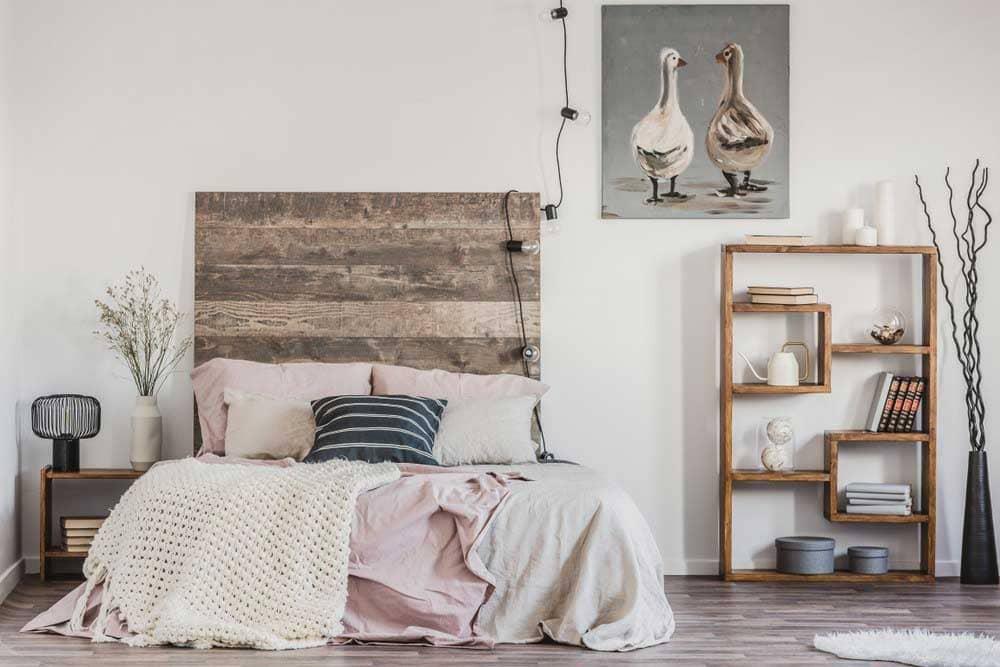 thiết kế đồng quê cho phòng ngủ - Housedesign
