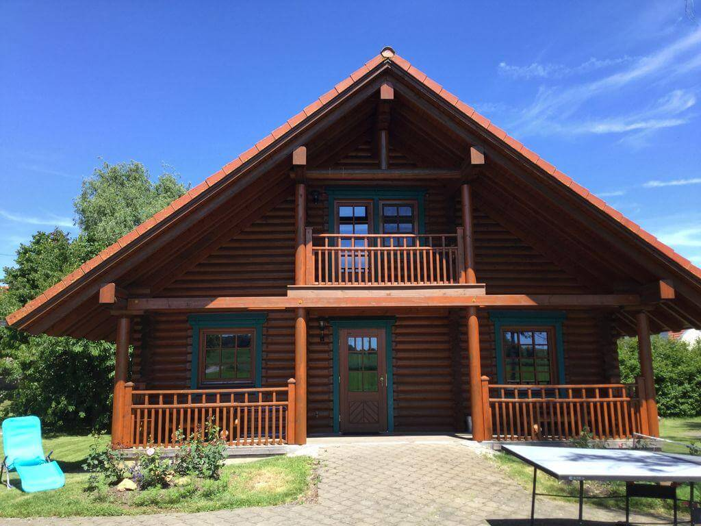 Thiết kế nhà gỗ đẹp trong sự đơn giản đẹp