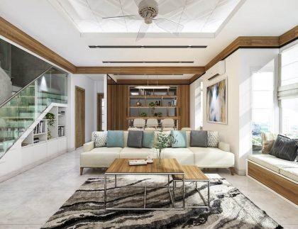 bày trí và thiết kế nội thất biệt thự Lakeview