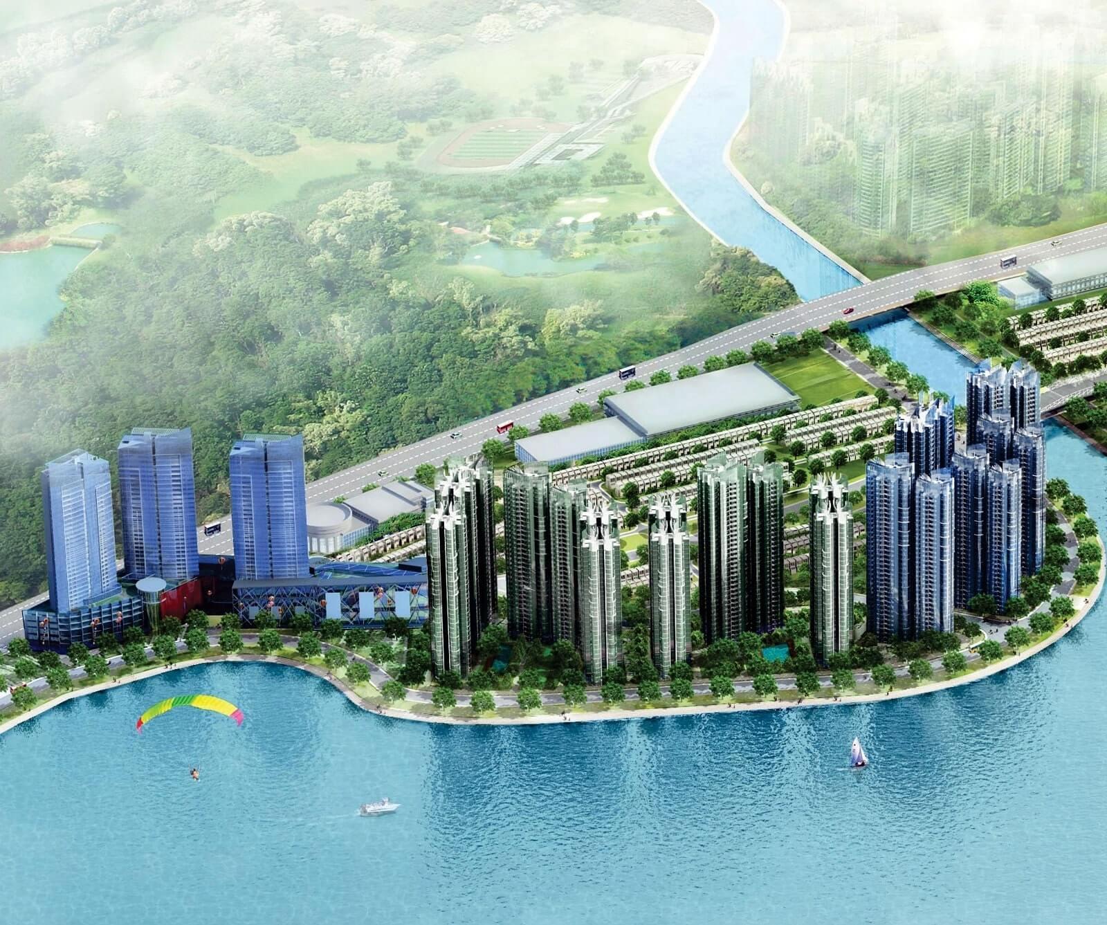 mẫu thiết kế biệt thự Palm City