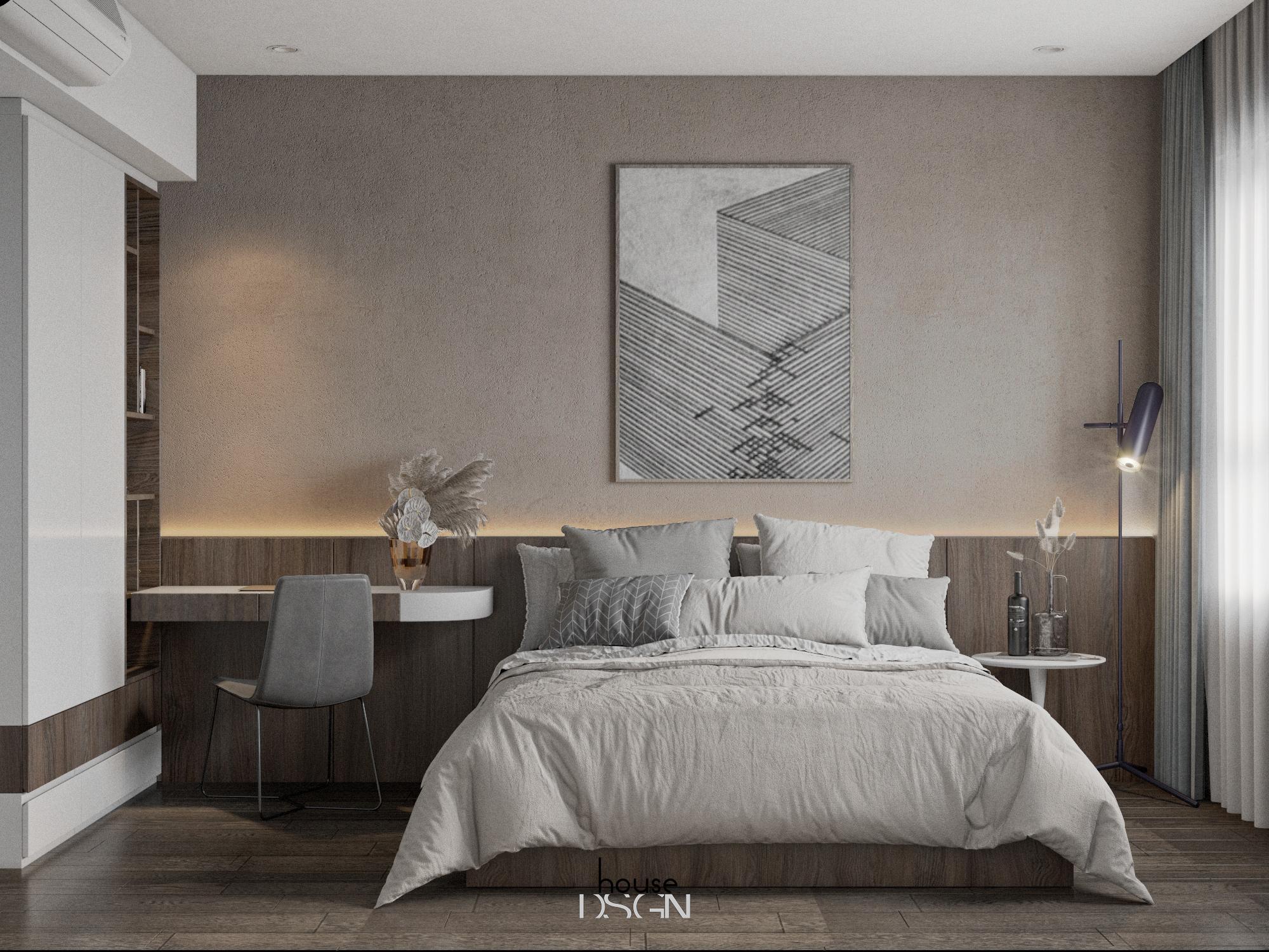 mẫu thiết kế nội thất căn hộ 1 phòng ngủ đẹp