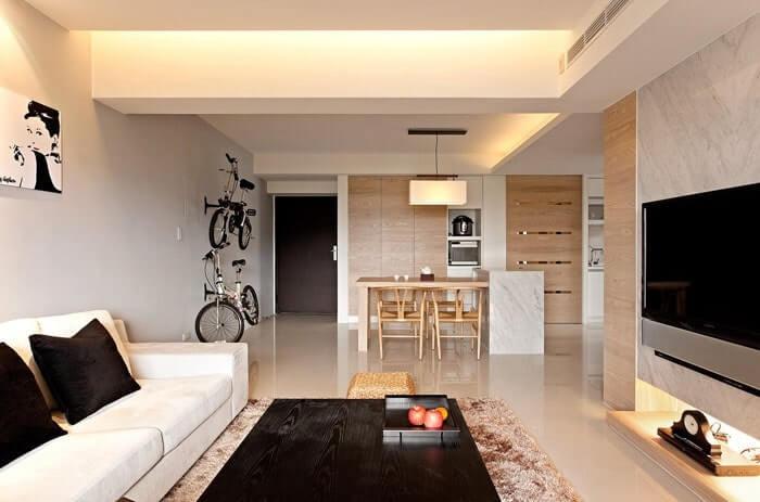 thiết kế nội thất căn hộ 52m2 đẹp