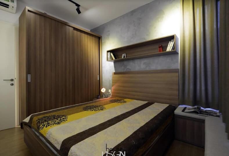 thi công và thiết kế nội thất căn hộ 65m2 2 phòng ngủ