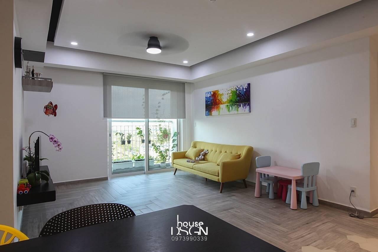 công ty thiết kế nội thất căn hộ 90m2 uy tín