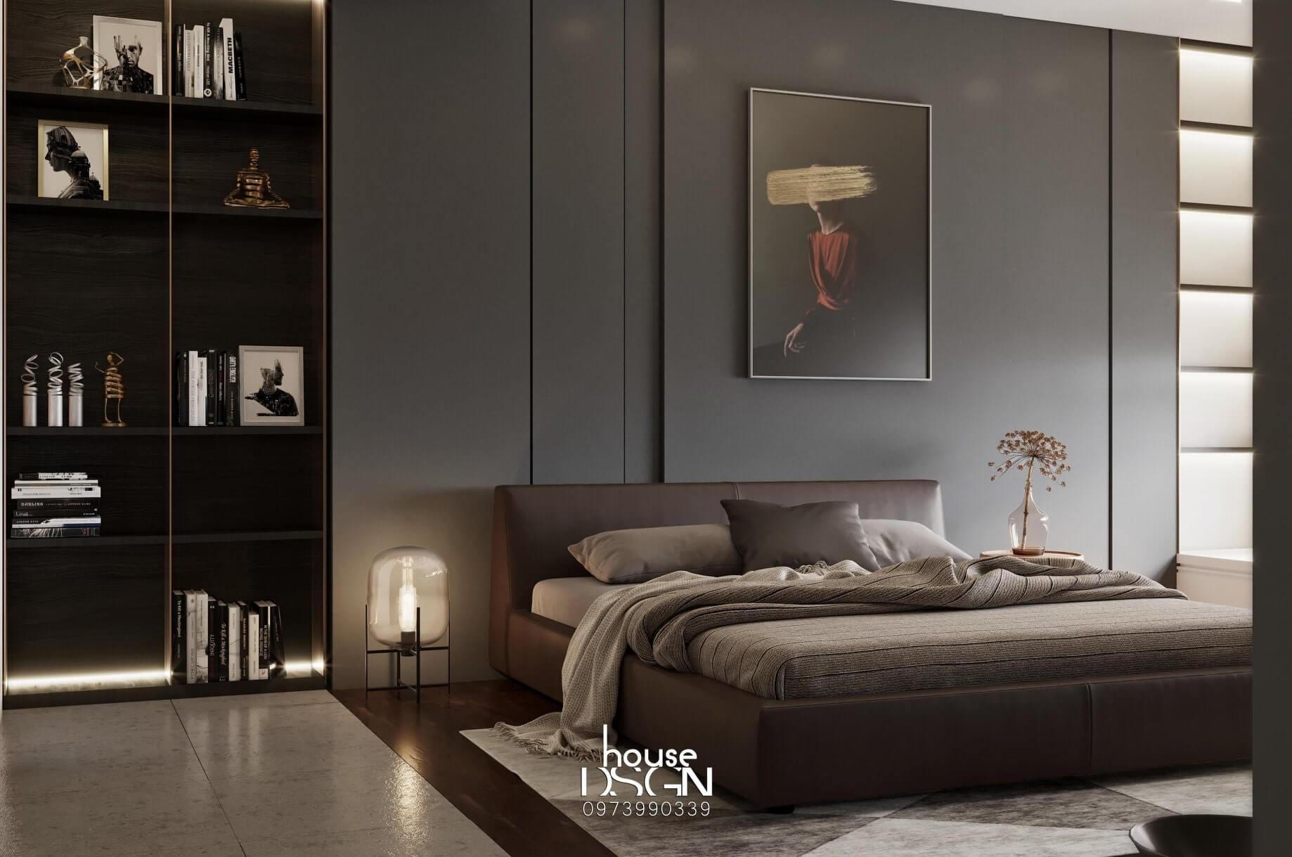nội thất phòng ngủ cho căn hộ 100m2
