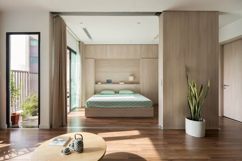 nội thất căn hộ Feliz En Vista tiện nghi