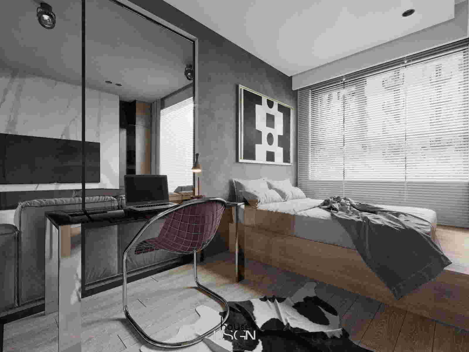 thiết kế nội thất căn hộ feliz en vista sang trọng