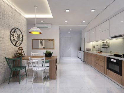 Thiết kế nội thất căn hộ Lakeview tiện nghi
