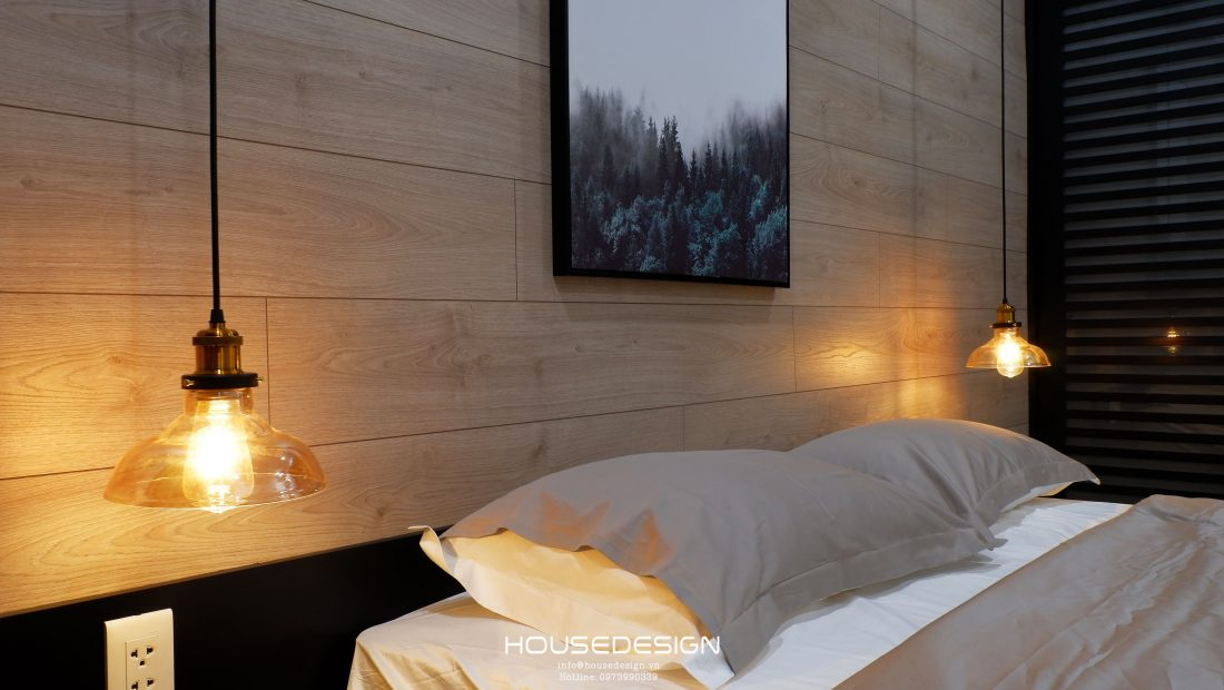 thiết kế nội thất căn hộ một phòng ngủ ấn tượng