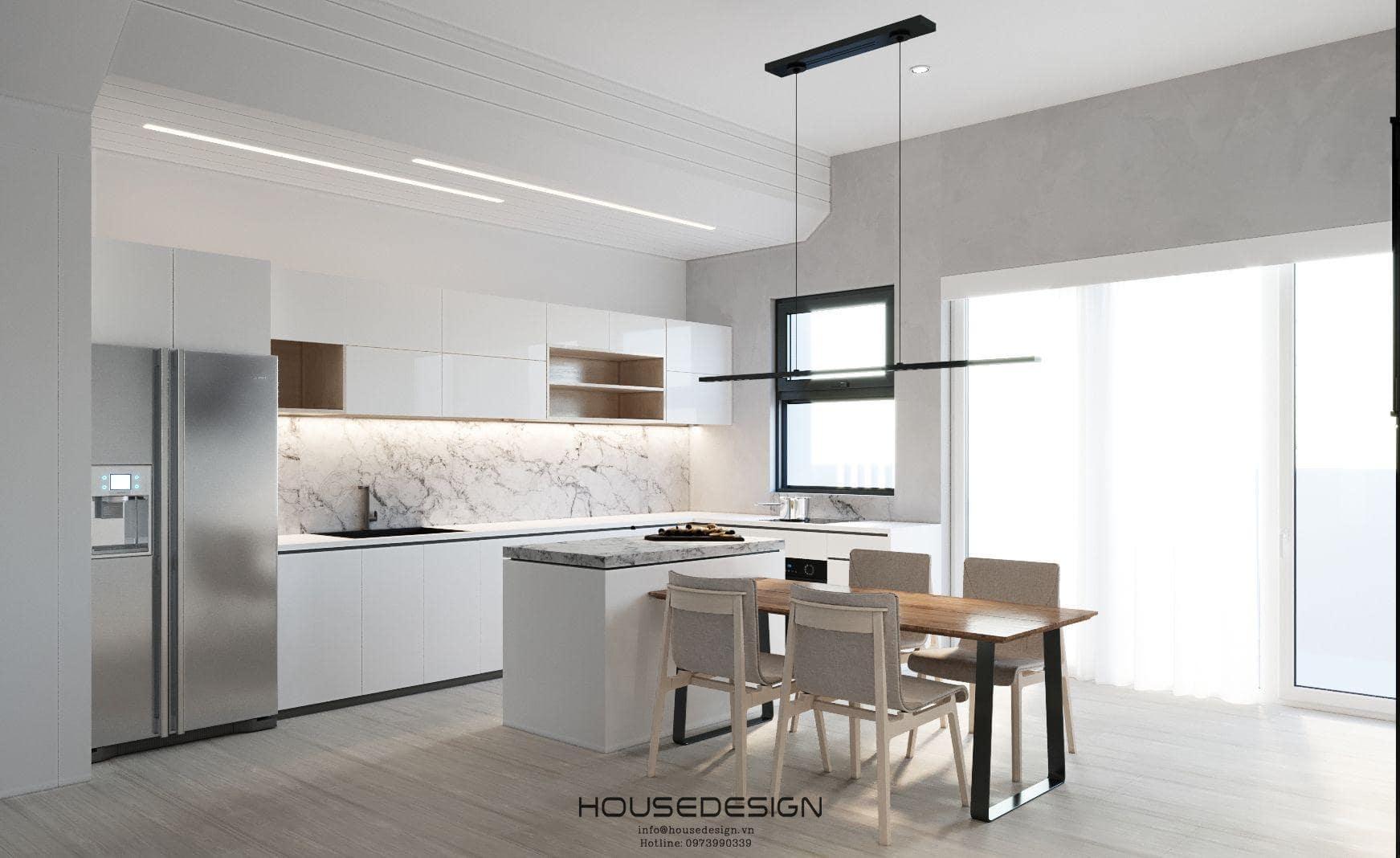Thiết kế nội thất căn hộ Palm Heights đẹp và hiện đại