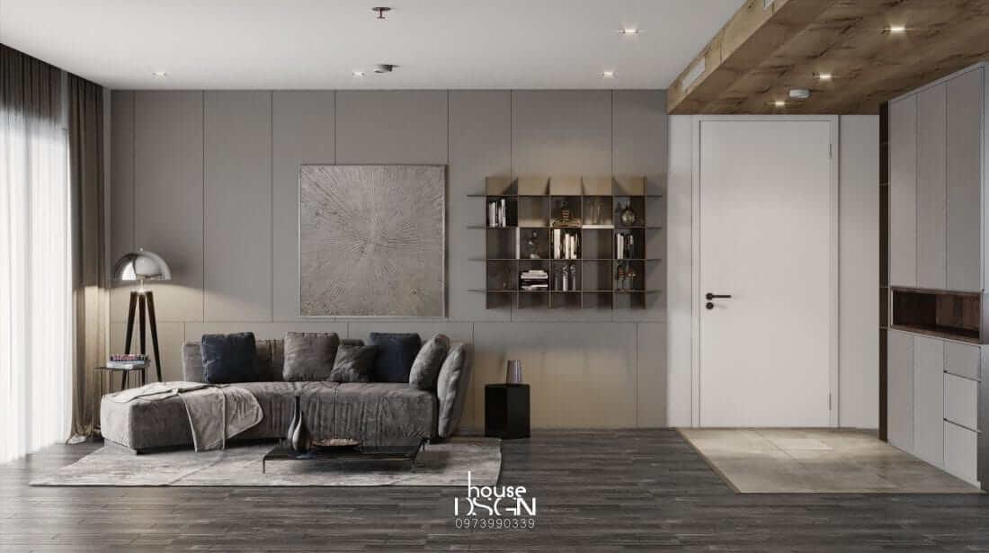 Thiết kế nội thất căn hộ Riviera Point sang trọng