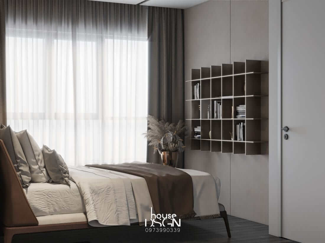 thiết kế nội thất chung cư Riviera Point hiện đại
