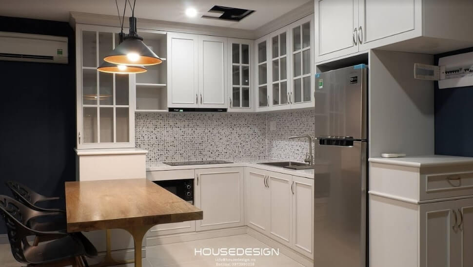 thiết kế nội thất chung cư 52m2 độc đáo