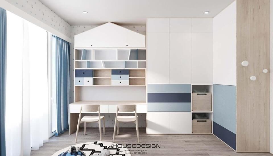 các mẫu thiết kế nội thất chung cư 52m2