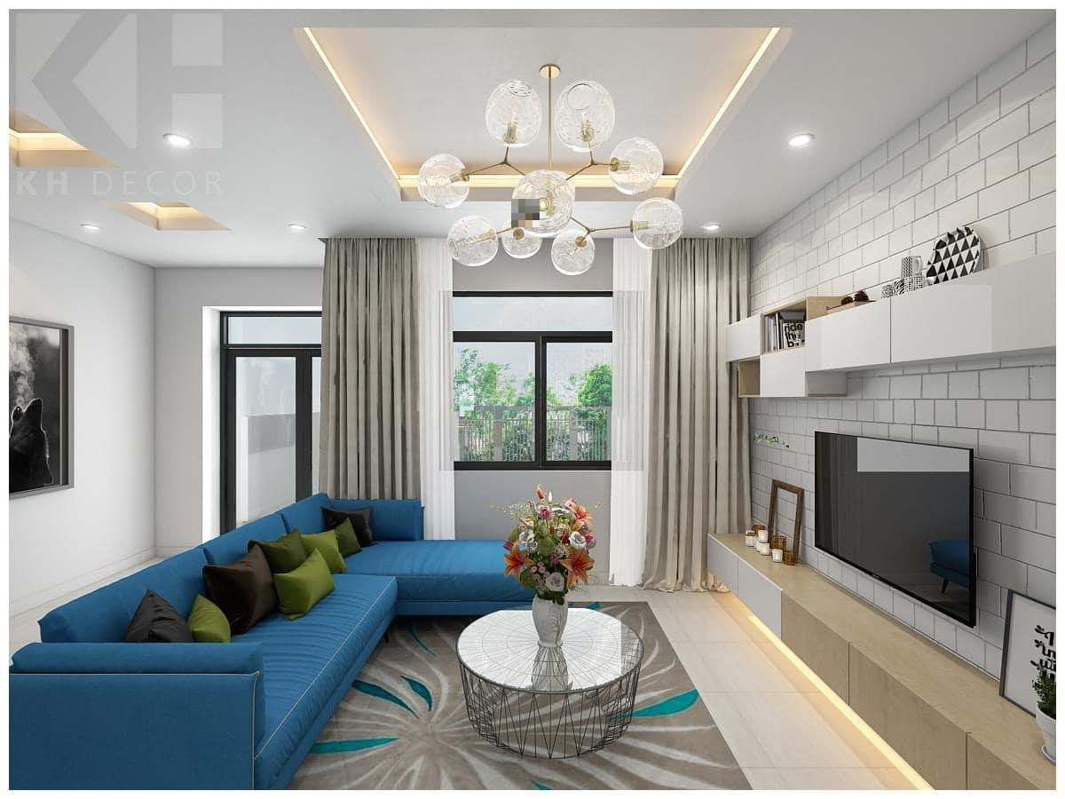 Thiết kế nội thất Lakeview hiện đại