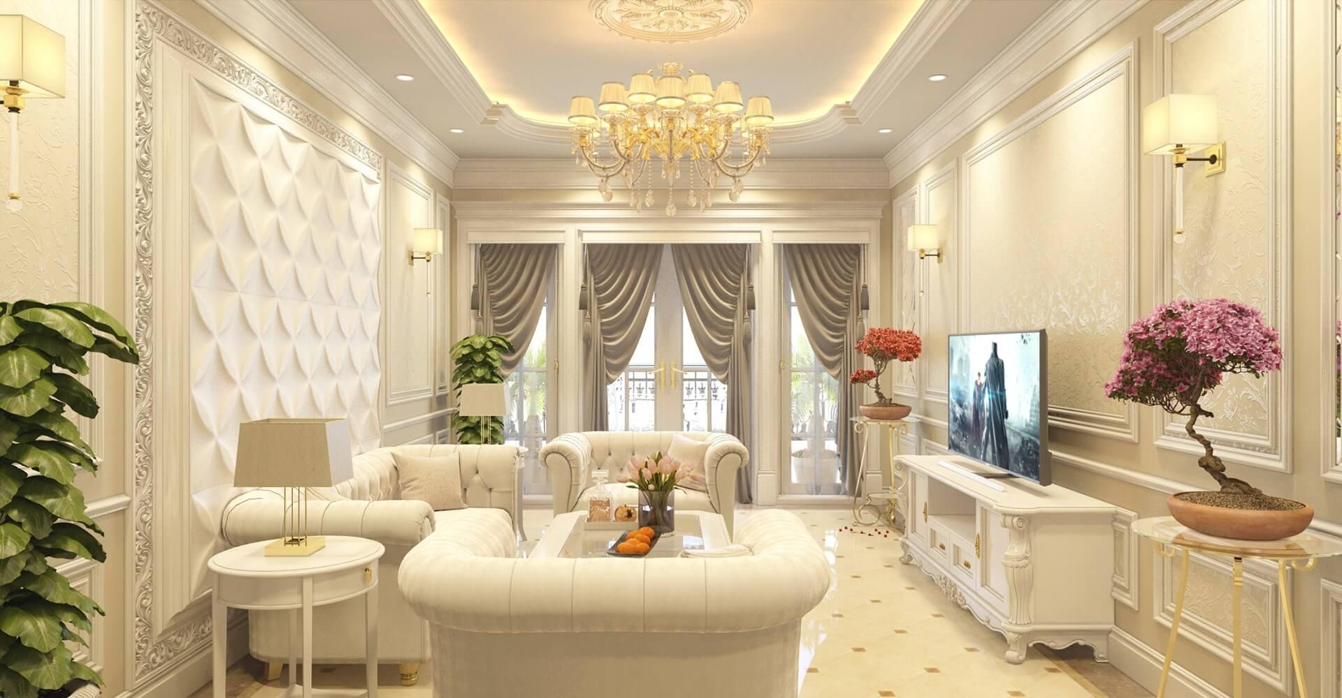 mẫu thiết kế nội thất nhà phố Lakeview đẹp nhất