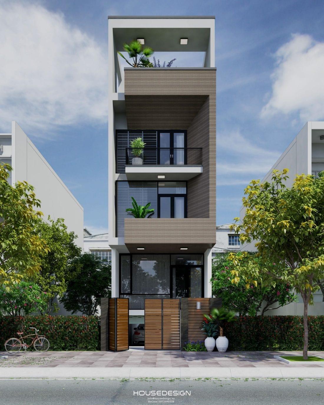 thiết kế nội thất nhà phố sang trọng