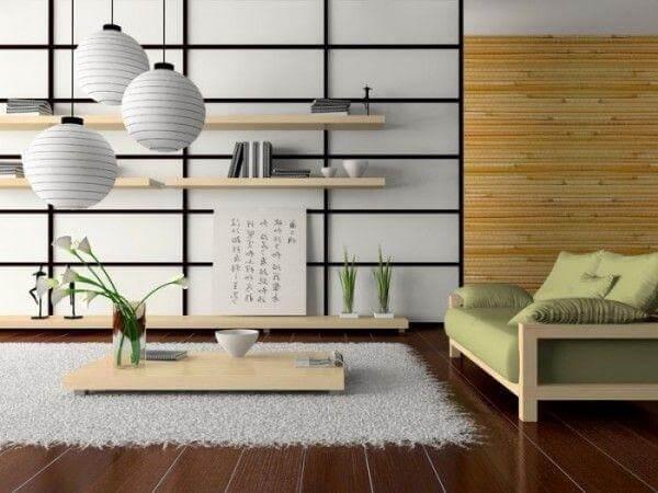 phong cách thiết kế nội thất Nhật Bản