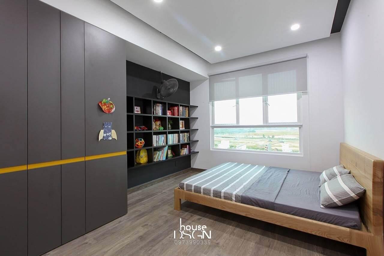 phong cách thiết kế nội thất căn hộ chung cư 90m2