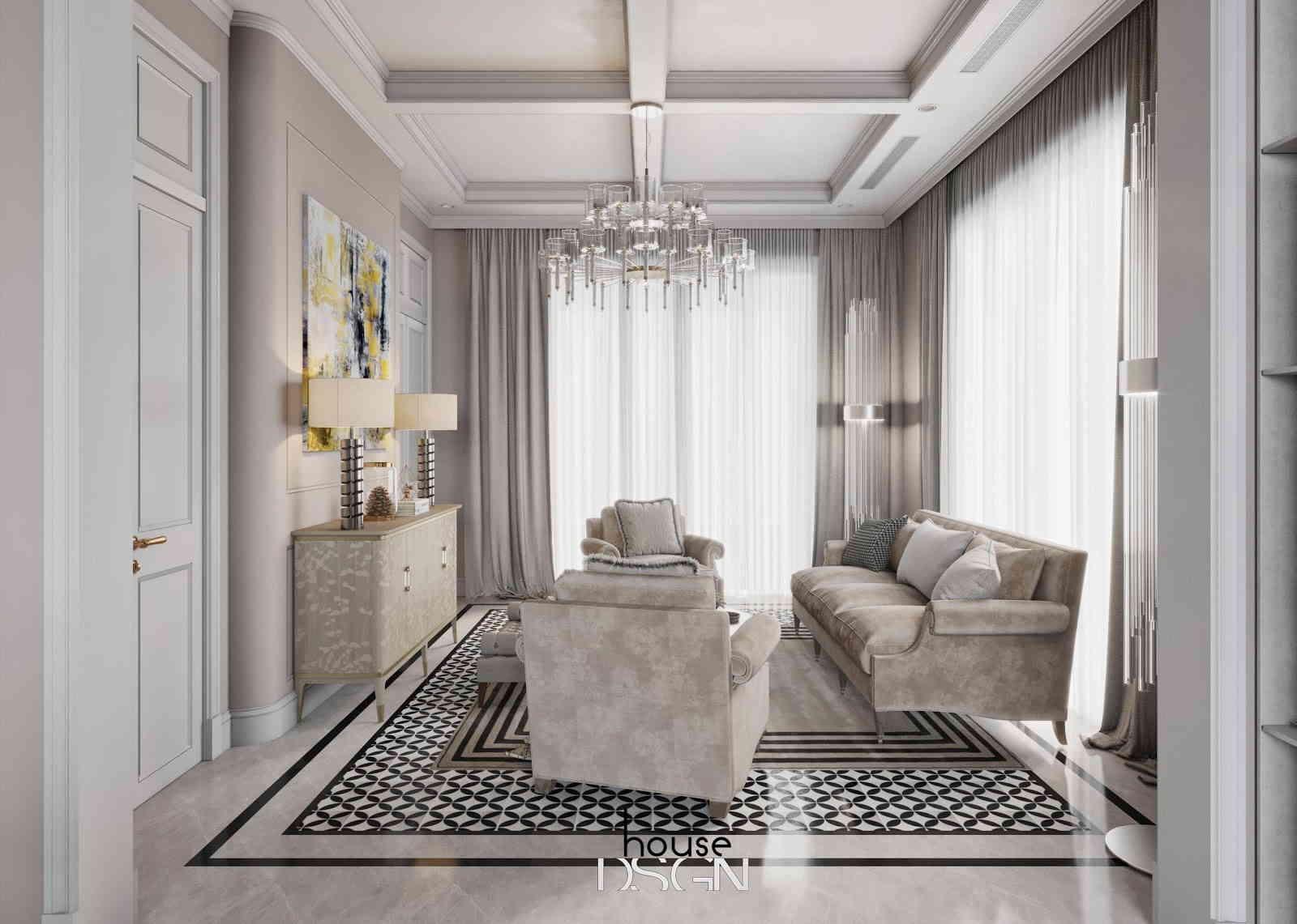 thiết kế nội thất phong cách tân cổ điển - Housedesign