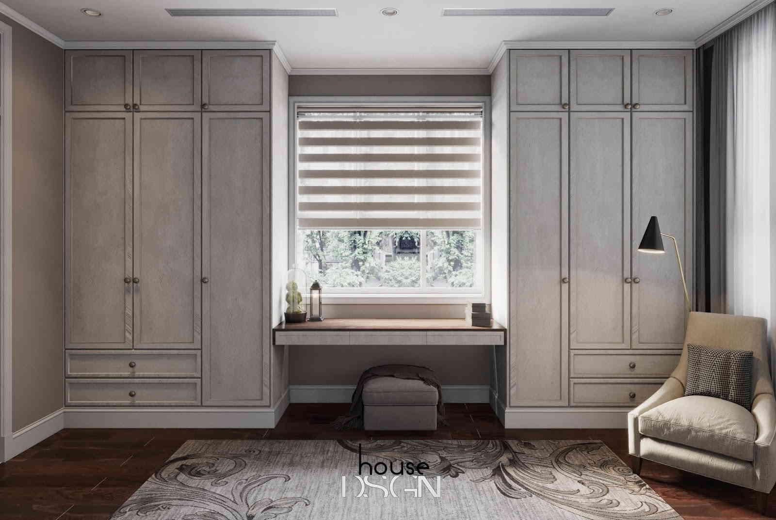 thiết kế theo phong cách nội thất cổ điển