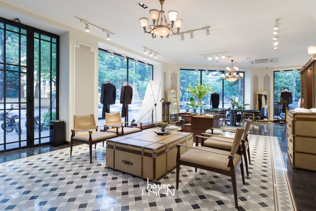 Thiết kế nội thất showroom đẹp
