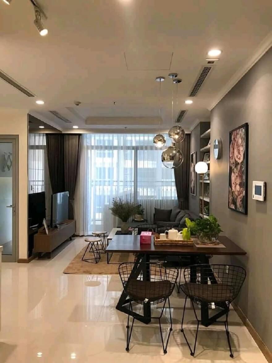 thi công và thiết kế nội thất căn hộ Palm Heights