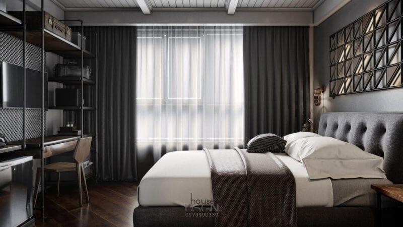 mẫu thiết kế phòng nội thất khách sạn